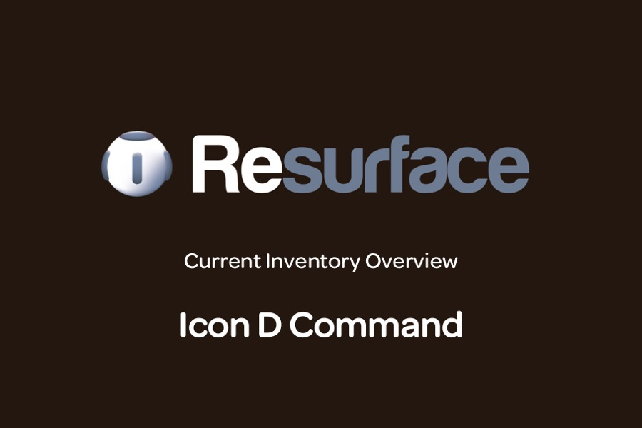 Used Icon D Command
